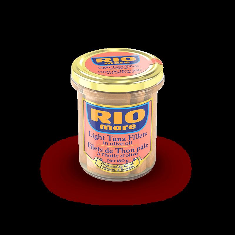 Light Tuna Fillets in olive oil