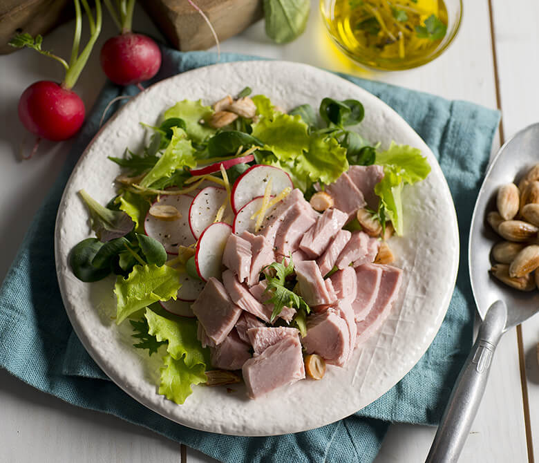 Lemon-scented Tuna Salad