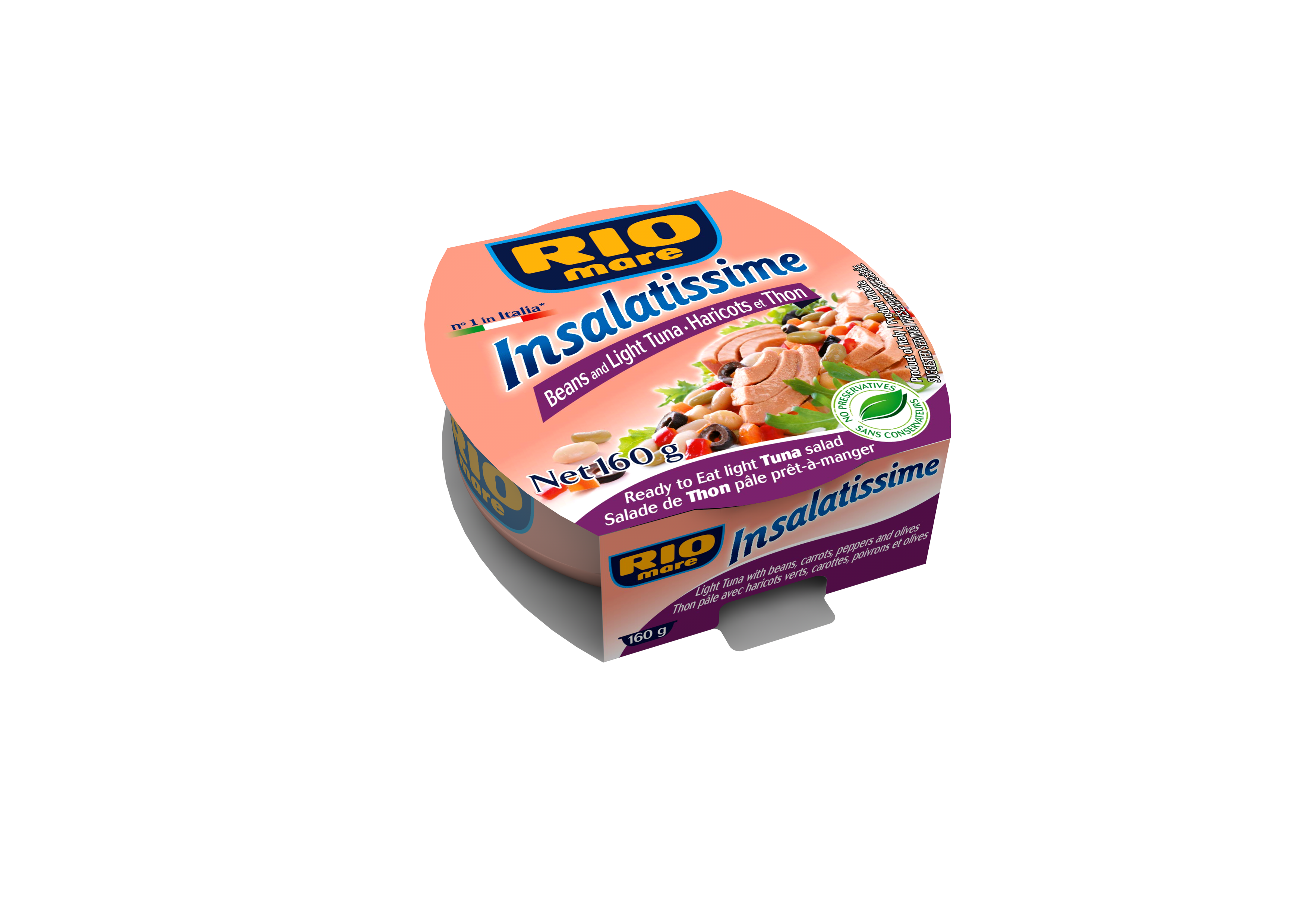 Insalatissime rice and light tuna salad