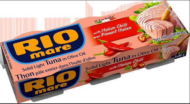 rio mare - Solid Light Tuna with Italian chilli