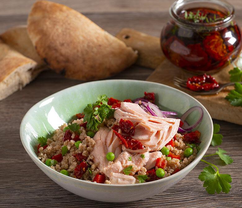 Salmon Couscous Bowl