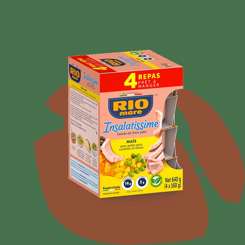rio mare - Insalatissime Salade de maïs et Thon pâle