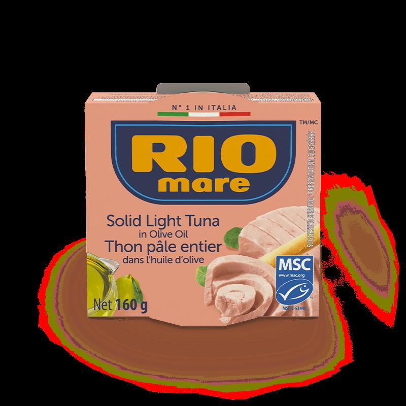 rio mare - Thon pâle entier dans l'huile d'olive